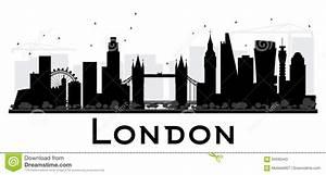 London Skyline Schwarz Weiß : london stadtskyline schwarzweiss schattenbild vektor abbildung illustration von hintergrund ~ Watch28wear.com Haus und Dekorationen