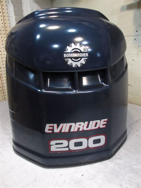 Boat Motor Covers Johnson by 5004956 Engine Cover Evinrude Outboard Ficht Blue