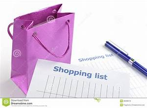 Writing Shopping List Royalty Free Stock Images - Image ...