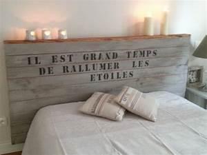 Comment Faire Une Tete De Lit : t tes de lit originales et faire sois m me ~ Preciouscoupons.com Idées de Décoration