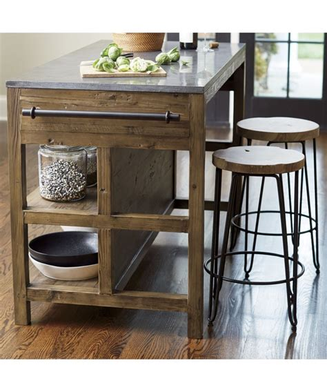 bar stool kitchen island bluestone kitchen island crate and barrel living room