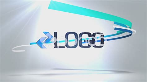 after effects project pond5 ribbon logo reveal 49048723
