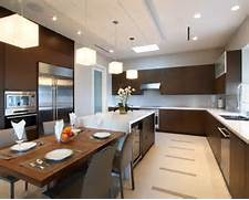 Kitchen Island Attached Table Home Design Ideas Pictures Remodel And 35 Custom Kitchen Designs From Top Kitchen Designers Worldwide Furniture Kitchen Islands With Seating Kitchen Designs Choose Kitchen Attached Kitchen Island Pinterest Kitchen Island With Attached Table