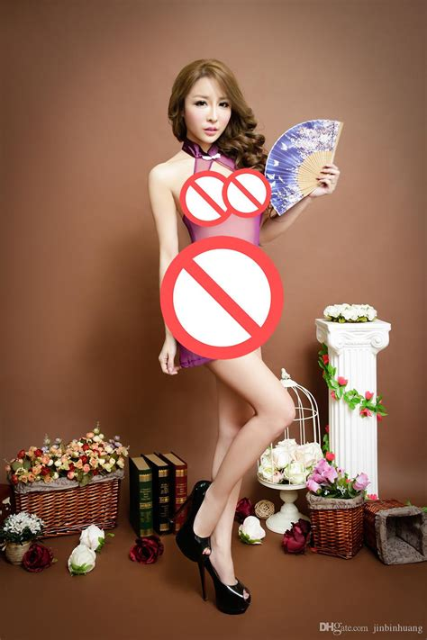 Retro Chinese Cheongsam New Cosplay Sexy Lingerie Women