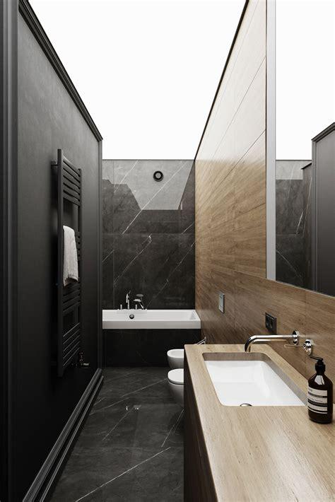 black marble bathroom  behance