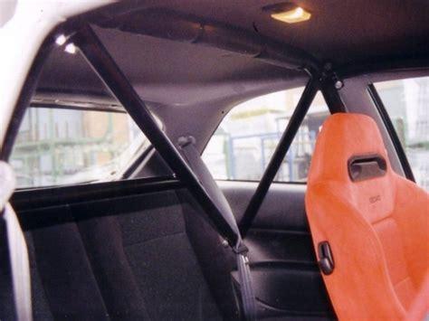 honda civic type  ek  point bolt  roll cage safety