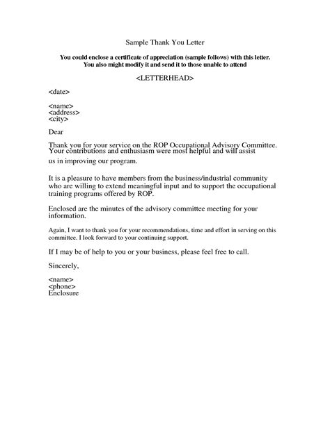 letter of appreciation appreciation letter sle template learnhowtoloseweight net