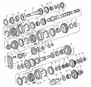 Ford T45 Parts Illustration Manual Transmission