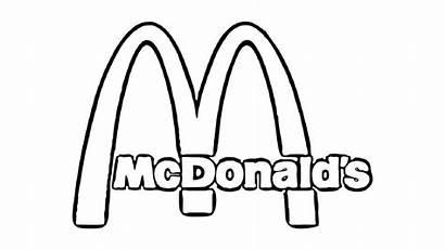 Mcdonalds Mcdonald Coloring Pages Printable Logos Drawing