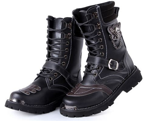 motorcycle ankle boots sale big sale motorcycle boots vintage combat army punk goth