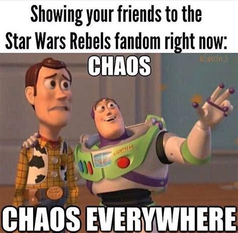 Buzz Lightyear Meme Generator - ha ha ha pretty much fan girls wondering where ashoka is kanera shippers squealing over fan