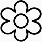 Icon Bloom Flower Daisy Help Spring Contoh