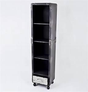 Möbel Industrial Style : regal industrial style mit einer schublade auf rollen neu in m bel wohnen m bel regale ~ Indierocktalk.com Haus und Dekorationen