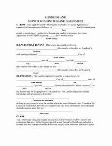 lease termination letter template rhode island month to month lease agreement template free