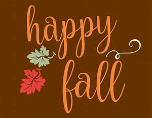 Happy Fall - STENCIL- 5 Sizes - Create Fall Family signs