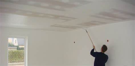 conseil pour peindre un plafond au rouleau palzon