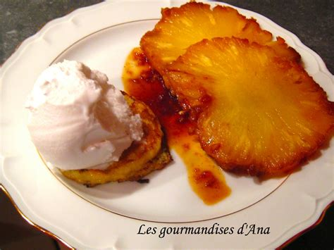 recette dessert ananas frais recette du 1er salon du culinaire ananas r 244 ti 224 la vanille caram 233 lis 233 e gingembre et sa