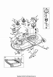 Mtd 13ax915t004  2013  Parts Diagram For Mower Deck