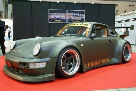 rauh welt porsche 911 rwb porsche 911 rauh welt begriff 964 army green matte