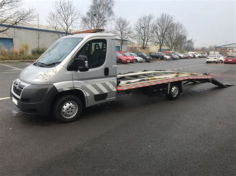 2013 (63 Plate) Citroen Relay 35 L3 Hdi Car Transporter