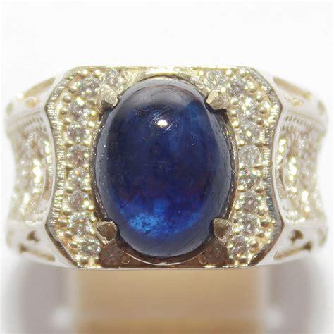 jual beli cincin batu blue safir afrika batu permata baru batu mulia dan permata murah