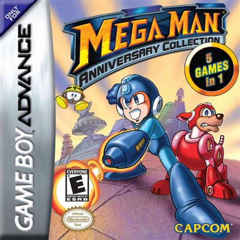 Mega Man Anniversary Collection Cancelled 2003 Gba