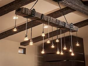 Diy, Rustic, Pendant, Lighting, From, Cheap, Material, U2014, Pixy, Home, Decor