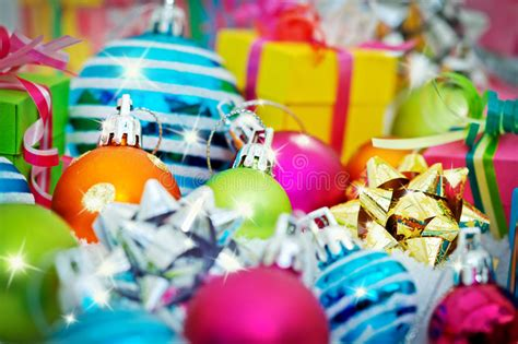assorted bows  gift wrapping stock image image