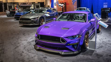 ford shows  sema  mustangs  pro street