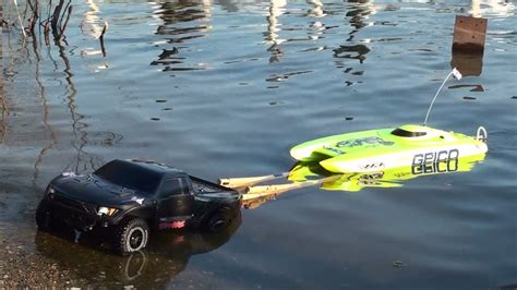 Rc Trucks Pulling Boats On Trailers by Rc Traxxas Launch Speed Boat Icons 2014