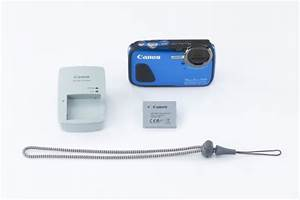 canon powershot d30 waterproof digital camera blue office With canon document camera