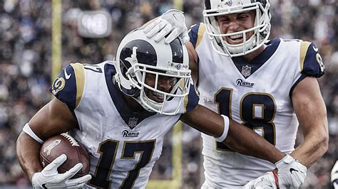robert woods continues   key weapon  rams la times