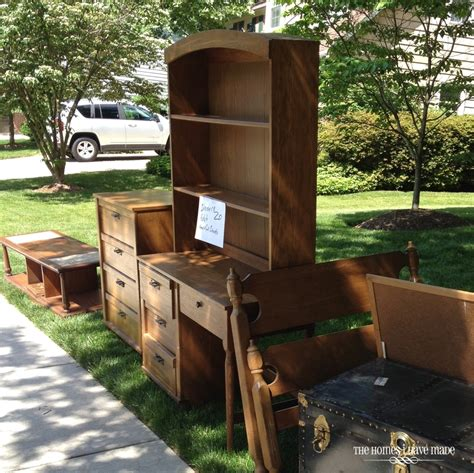 Yard Furniture Sale by 10 Tips For An Awesome Yard Sale The Homes I Made