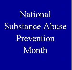October is National Substance Abuse Prevention Month ...