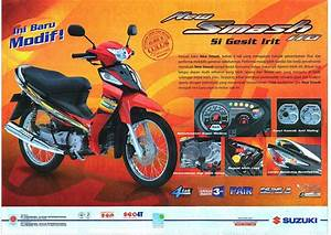 Modifikasi Motor Smash 110 Sr