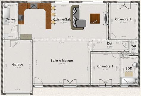 plain pied 4 chambres plan combles largeur 4m50 environ 34 messages