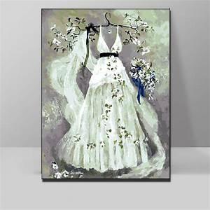 artful bride hand painted wedding dresses unique With painted wedding dress