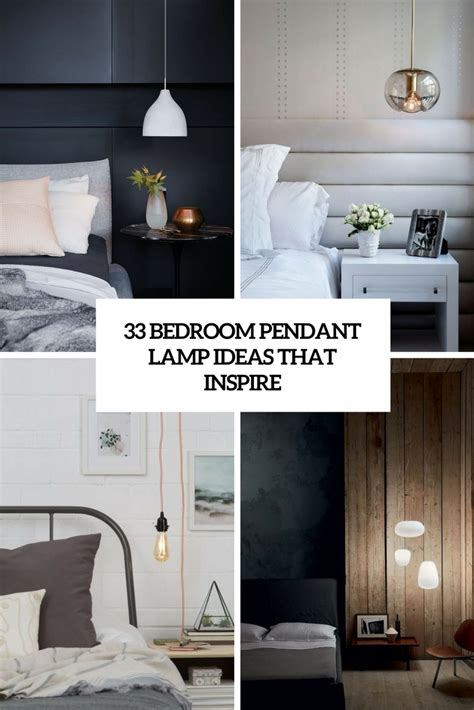 hanging lights bedroom 33 bedroom pendant l ideas that inspire digsdigs 11770 | 33 bedroom pendant lamp ideas that inspire cover