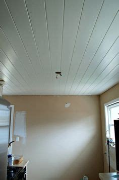 recessed lighting kitchen a diy plank ceiling in the kitchen is a great way to cover 1737
