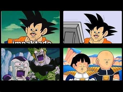 Memes De Dragon Ball Z En Espaã Ol - memes graciosos de dragon ball z en espa 241 ol by reyrex youtube
