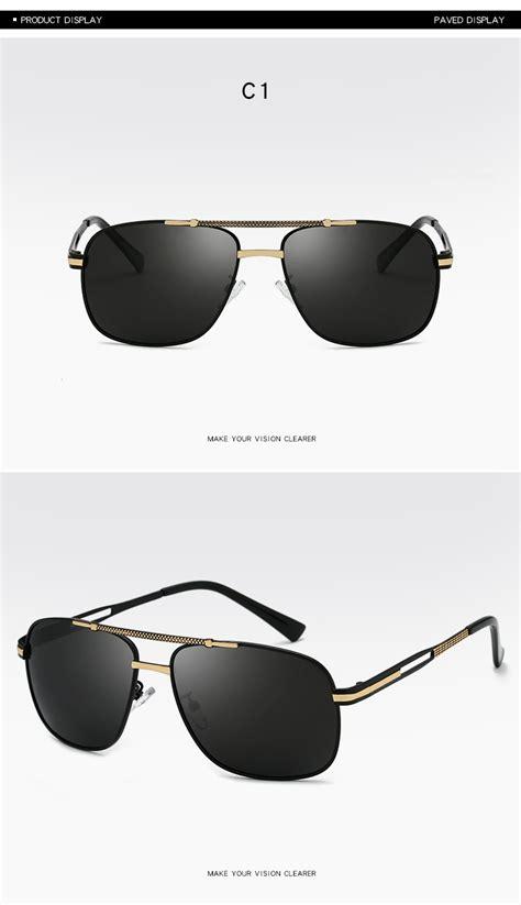 vision uv400 wholesale custom quality sunglasses hd tac driving frame sport metal brand night