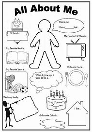Best All About Me Worksheet - ideas and images on Bing | Find what ...
