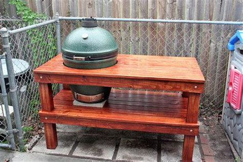 big green egg table plans with doors large green egg table diywoodtableplans