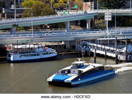 Catamaran Ferry Australia by City Cat Catamaran Ferry On The River In Brisbane