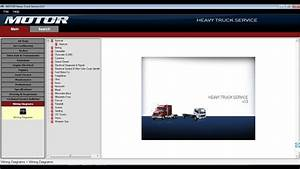 Motor Heavy Truck Service V13  2013  - All Heavy Trucks Wiring Diagrams Software