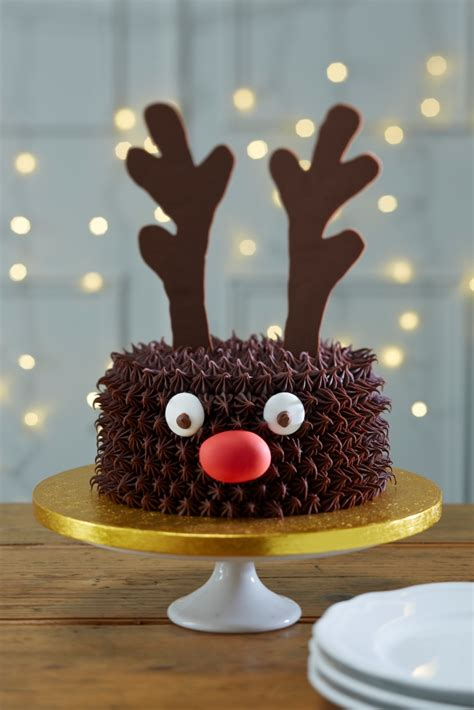 cakes to make at christmas how to make a reindeer cake hobbycraft blog