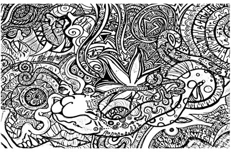 Get This Printable Trippy Coloring Pages For Grown Ups Ta09d