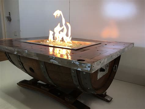 Fire pit to coffee table converter. Wine Barrel Fire Pit | Custom Fire Pits | Smokin' Barrel Works - Smokin' Barrel Works