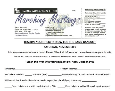 band banquet ticket google search marching band band