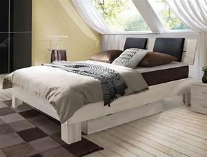 Bettbank Mit Stauraum : boxspringbett mit massivem holzrahmen port louis ~ Watch28wear.com Haus und Dekorationen